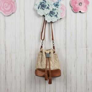 Anthropologie Miss Albright Bucket Bag